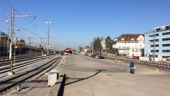 Der Freiverlad im Bahnhof Wohlen soll einer Bauzone zugewiesen werden.
