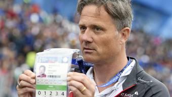 Alex Miescher, Generalsekretär des Schweizerischen Fussballverbands (SFV). (Archivbild)