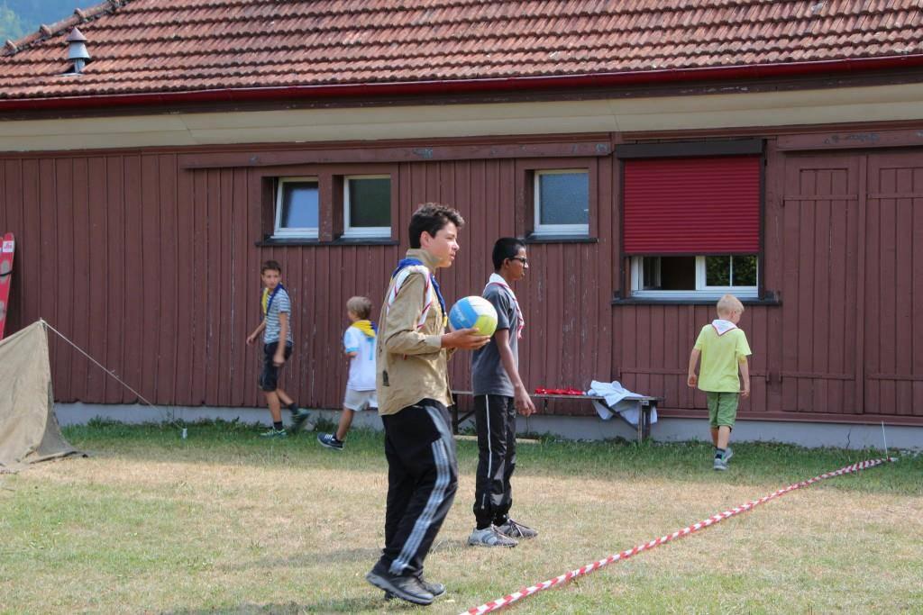 Sommerlager der Pfadi St.Luzi (© FM1Today/Fabienne Engbers)