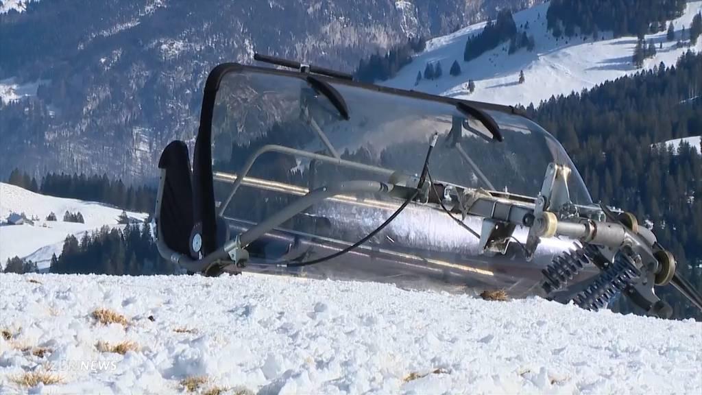 Sesselliftunfall Stoos (SZ): 40-jähriges Unfallopfer verstorben