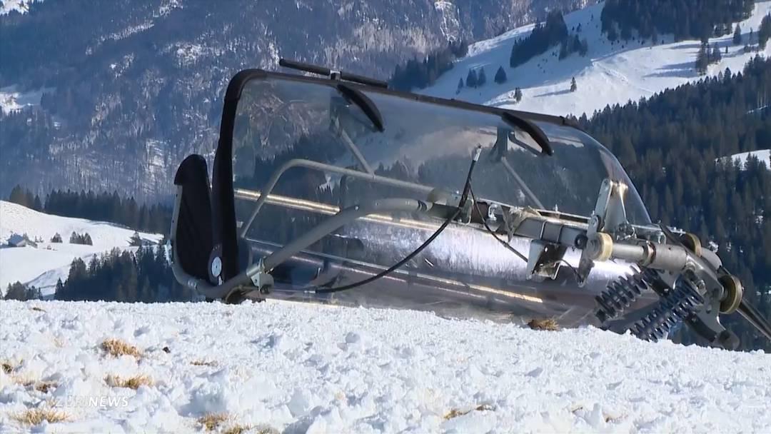Sesselliftunfall Stoos (SZ): 40-jähriges Opfer verstorben