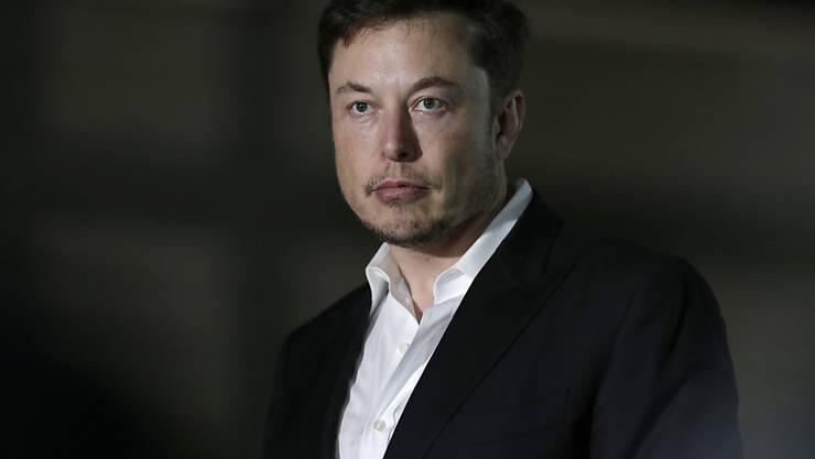 """Bezeichnete einen der Retter des in einer Höhle eingeschlossenen thailändischen Fussball-Teams auf Twitter wiederholt als """"Pädophilen"""": Tesla-Chef Elon Musk. (Archivbild)"""