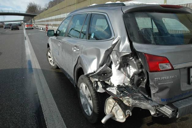 Unfall bei Oberbuchsiten