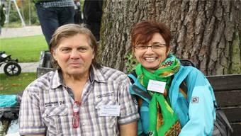 Andres Schmocker und Monica Locher