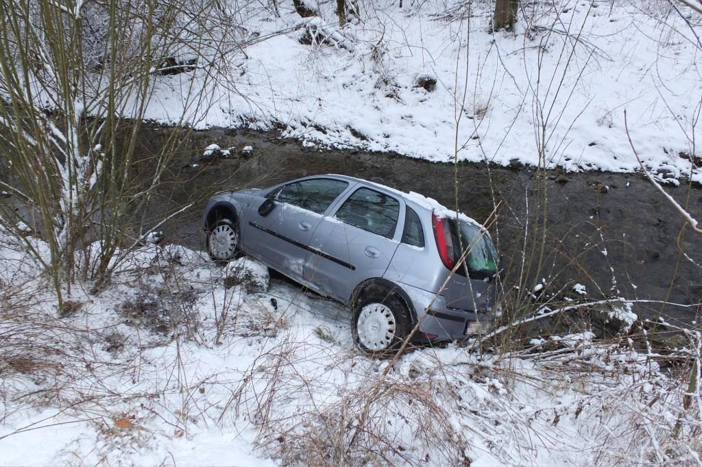 Unfall in Gossau