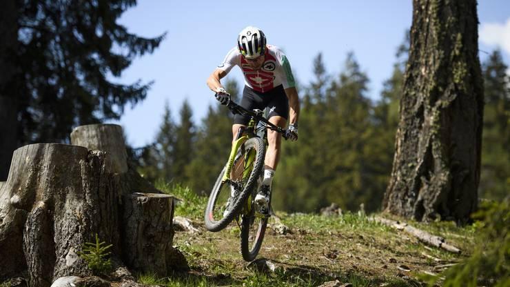 Der Schweizer Mountainbiker weiss: «Der grosse Rummel neben der Strecke mit Sponsoren- und Medienverpflichtungen birgt durchaus Gefahren.»