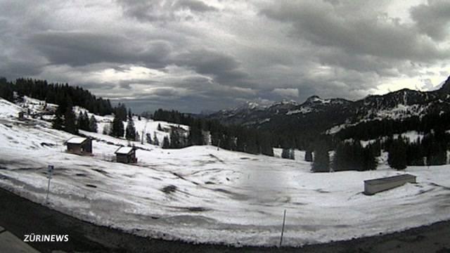 Föhn zerstört Ski-Saisonstart