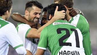 Der FC St. Gallen konnte erstmals in dieser Saison in der Fremde einen Sieg feiern