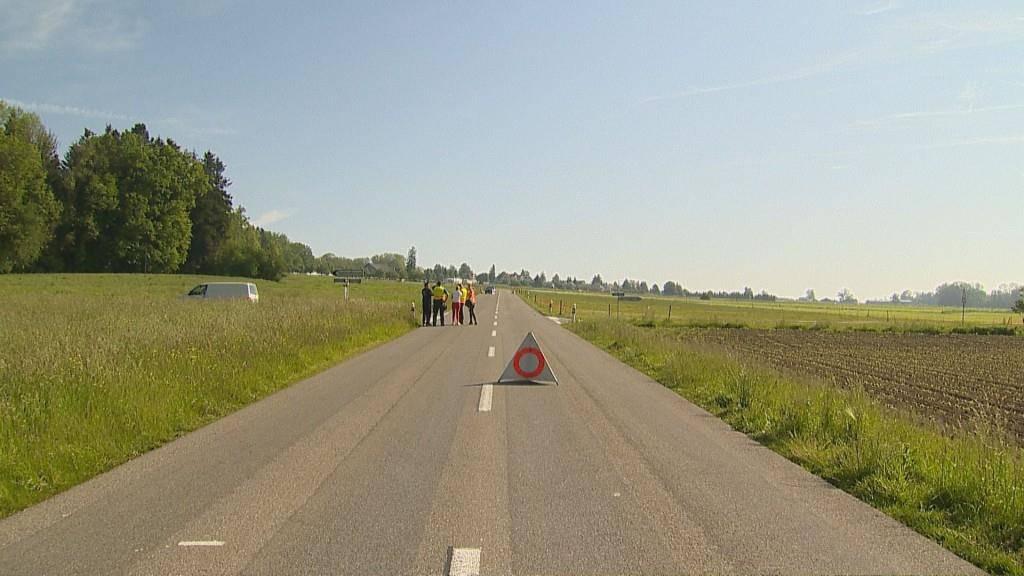 Tödlicher Unfall in Leimbach (© Beat Kälin/BRK News)