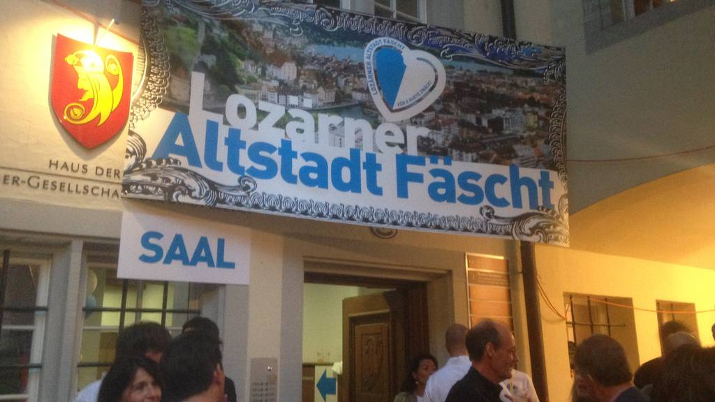 Es gibt kein «Lozärner Altstadt Fäscht» mehr