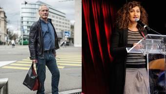 Thomas Kessler wäre bereit für die Reise nach Bern, Sibel Arslan will ihren Platz am Rednerpult verteidigen.