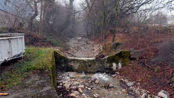 Hochwasserschutz am Giglerbach