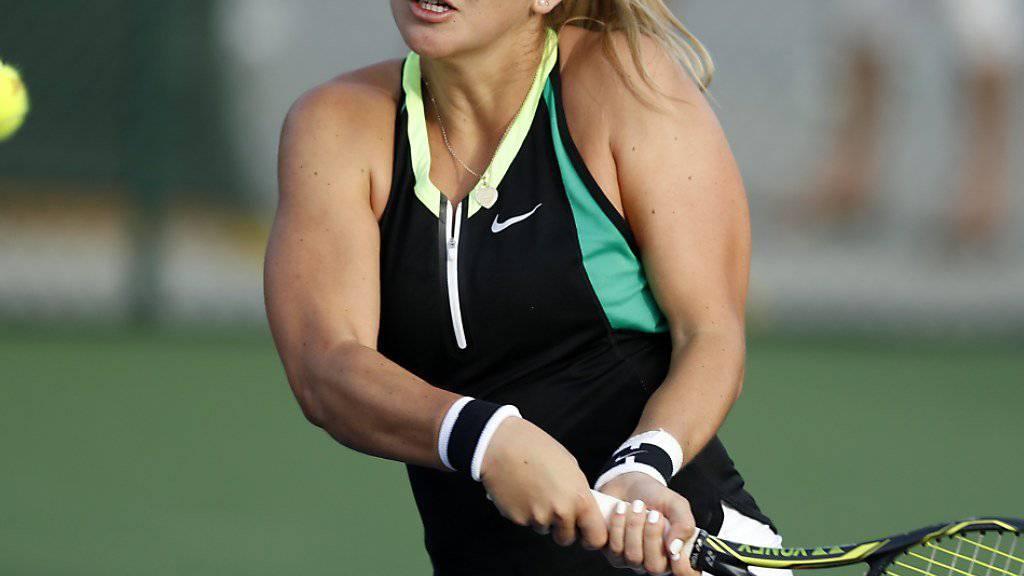 Belinda Bencic läuft ihrer Form weiterhin hinterher