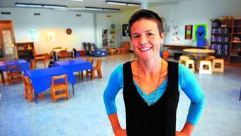 Genug Platz: Leiterin der TAZ, Katrin Müller, könnte noch weitere Kinder aufnehmen. (Bild: Urs Lindt)