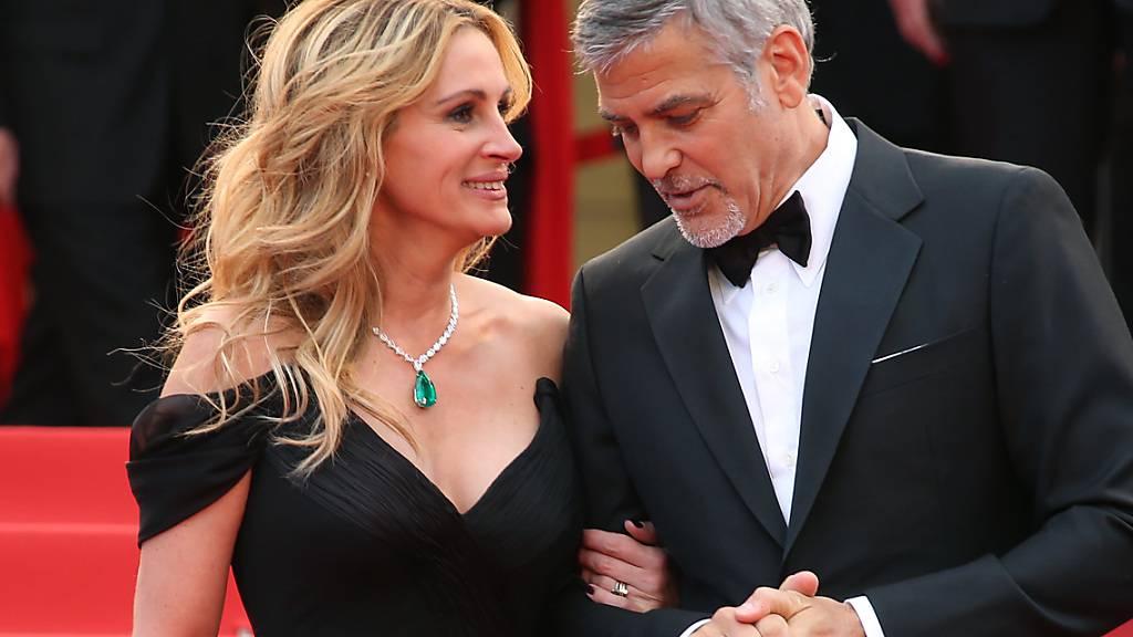 George Clooney und Julia Roberts als Ex-Eheleute in Filmromanze