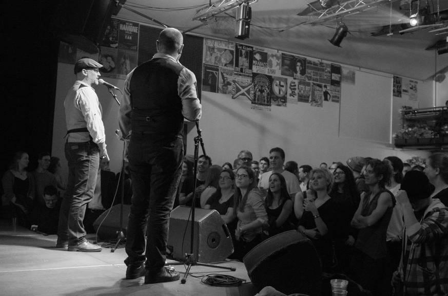 Bild: Facebook/Poetry Slam St.Gallen/Stefanie Rohner