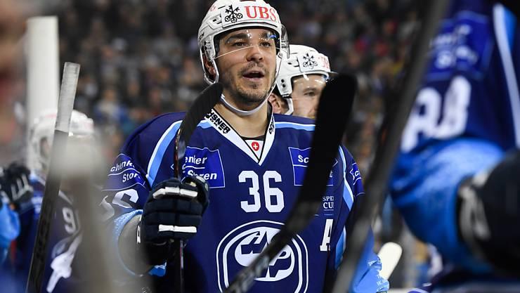 Matt D'Agostini war Doppeltorschütze für Ambri-Piotta gegen TPS Turku