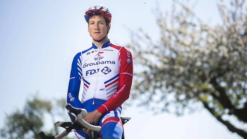 Stefan Küng macht sich in Belgien fit für die grossen Klassiker Flandern-Rundfahrt (18. Oktober) und Paris - Roubaix (25. Oktober)