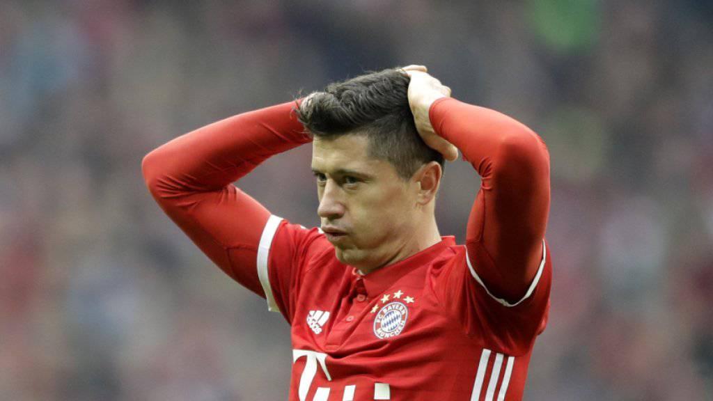 Bayern München kommt trotz Torschütze Lewandowski gegen Schalke nicht zum Sieg