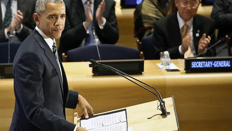 Flüchtlinge könnten ein Land bereichern, sagte US-Präsident Obama bei einem Gipfel am Rande der UNO-Vollversammlung.
