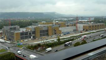 Coop hat eine Produktionsstätte und ein Logistikzentrum hochgezogen – ansonsten ist es auf dem Entwicklungsgebiet Salina Raurica eher still.