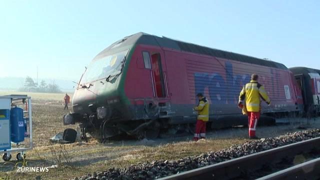 Rafz-Zugunfall geklärt