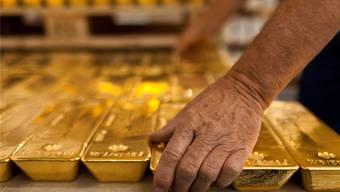 Mit 26 Prozent ist der Goldpreis seit Jahresanfang so stark gestiegen wie seit 1980 nicht mehr.Martin Ruetschi/Keystone