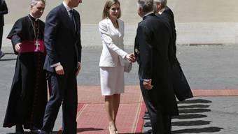 König Felipe und Letizia werden im Vatikan empfangen