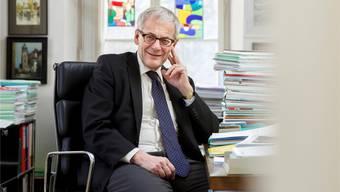 Kurt Fluri bleibt aktiv durch Bewegung: Er tritt als Stadtpräsident erneut an