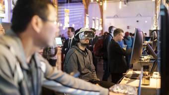 Am Game Festival Ludicious stellen Zürcher Videogame-Entwickler ihre Arbeit vor. Der Zürcher Kantonsrat will, dass Games und andere interaktive Formate stärker gefördert werden. (Archivbild)
