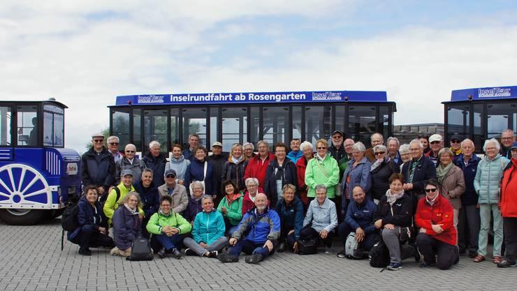 Die Wolfwiler Kulturreisegruppe auf Norderney