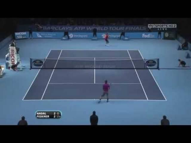 Die besten Punkte zwischen Federer und Nadal