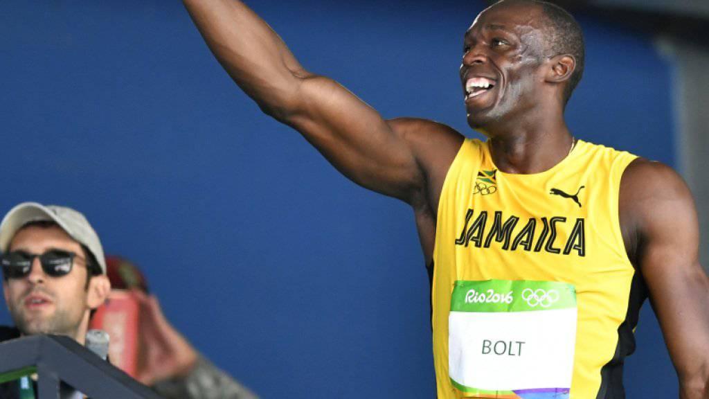 Usain Bolt gelang in Rio de Janeiro Historisches