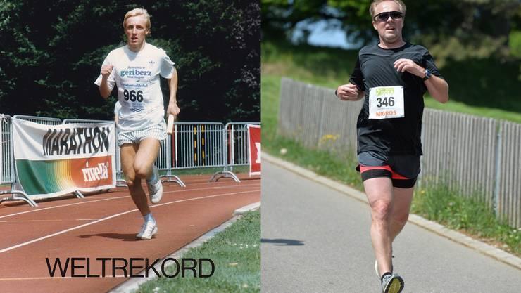 Laufsport bleibt für Sportredaktor Rainer Sommerhalder ein Hobby.
