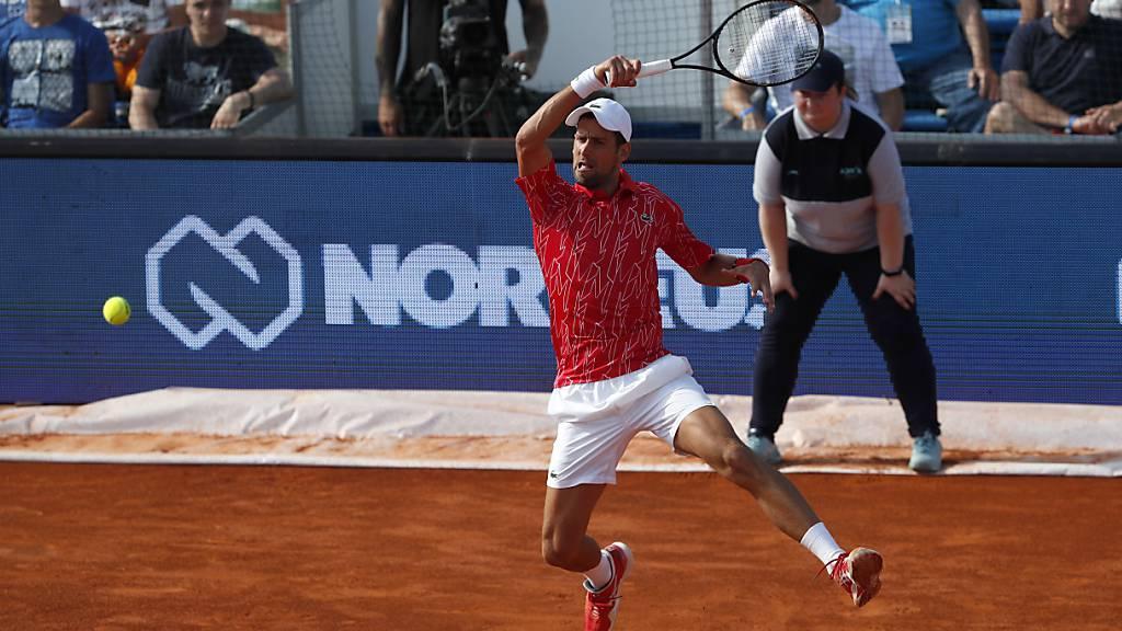 Djokovic mit souveränem Auftakt an der Adria Tour