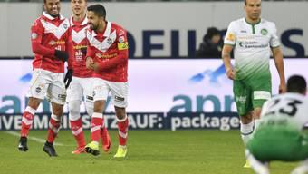 Lugano feiert den zweiten Auswärtssieg der Saison und gibt die Rote Laterne an Sion ab