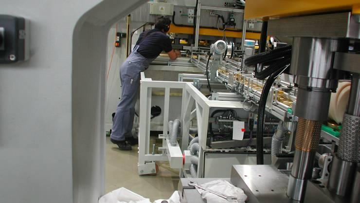 In der Soudronic in Bergdietikon sind 120 Angestellte von Kurzarbeit betroffen.