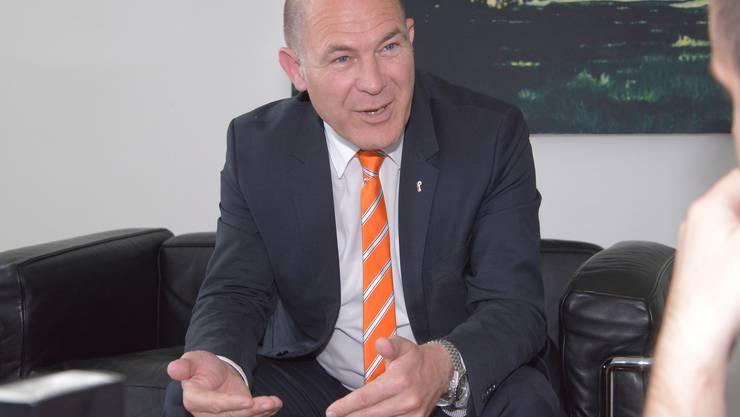 Anton Lauber wurde einstimmig nominiert.