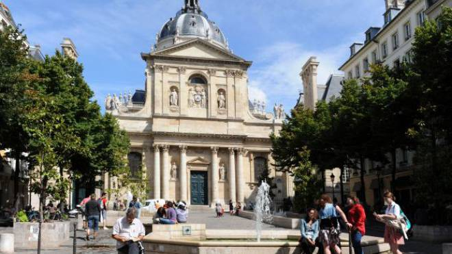 An der Universität Sorbonne in Paris wird es künftig keine Schweizer Austauschstudenten mehr geben. Foto: HO