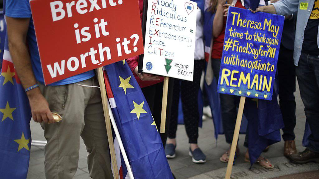 Immer mehr Firmenchefs in Grossbritannien fürchten den nahenden Austritt aus der EU. (Symbolbild)
