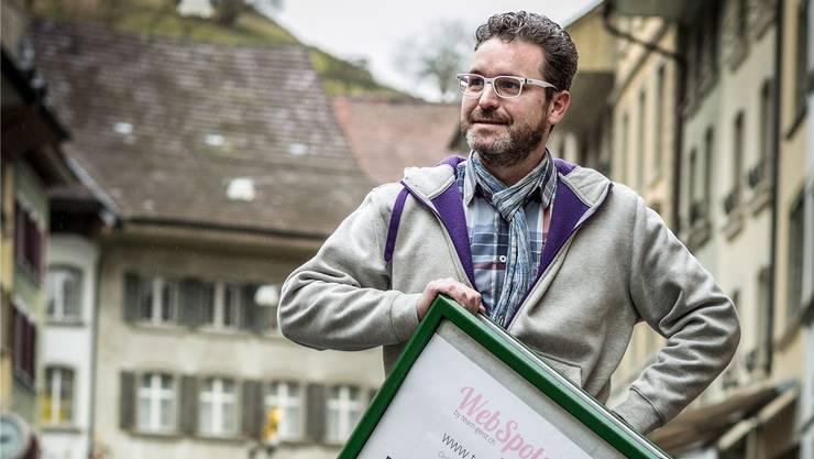 Stefan Schmid ist heute Geschäftsführer – trotz schlaflosen Nächten.