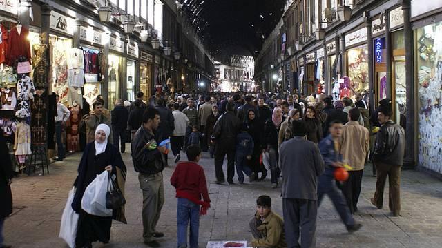 Alltag in Damaskus (Symbolbild)