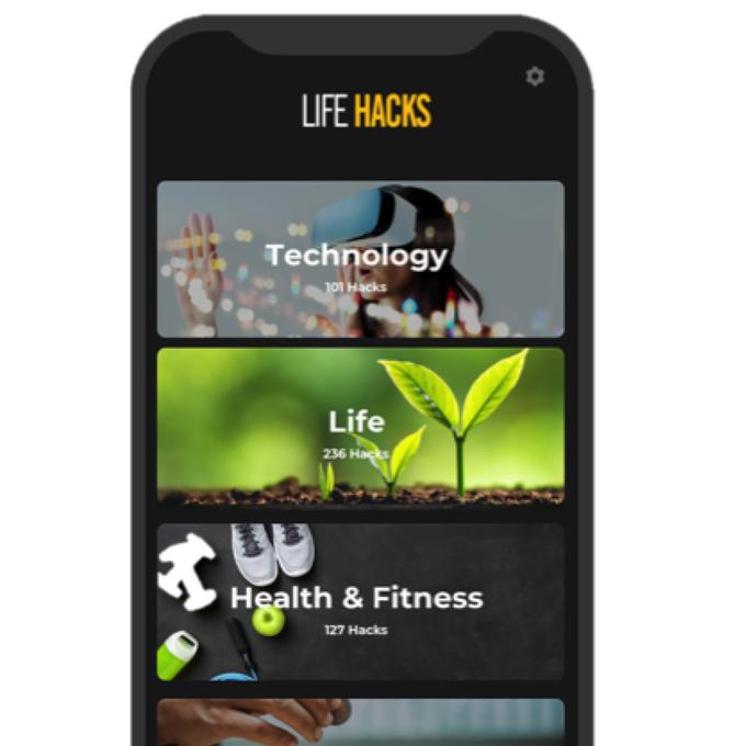 Life Hack App - Das Lexikon für Life Hacks