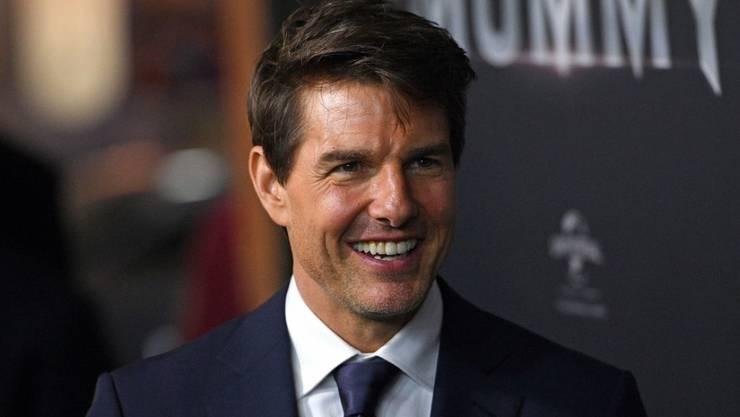 """Actionheld durch und durch: US-Schauspieler Tom Cruise hat einen grossen Teil der neuen """"Mission: Impossible""""-Folge mit gebrochenem Fuss gedreht. (Archivbild)"""