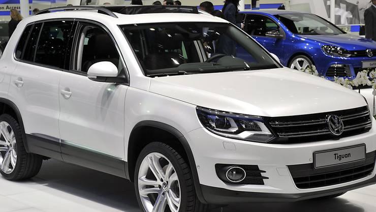 In China ist vom Abgas-Skandal vor allem das Modell Tiguan betroffen.