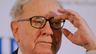 Warren Buffett bittet solvente Gäste zu Tisch (Archiv)