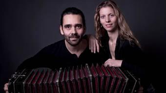 «The Bandoneon on Travel» (Bild) und «Ceferino Marino Chamoux» treten am Sonntag an der argentinischen Matinée auf.