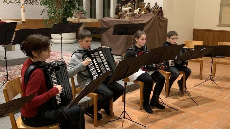 Akkordeonschüler von Carmen von Arx