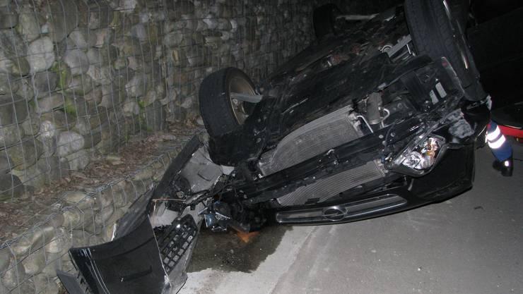 Ein 45-jähriger Tessiner überschlug sich mit seinem Opel