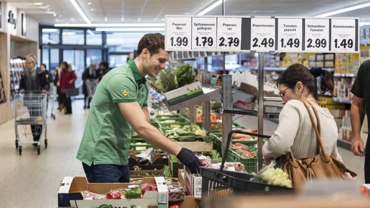 Lidl Schweiz konnte seinen Umsatz mit Bioprodukten steigern.